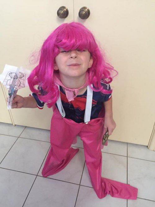 junior kolk-pink day